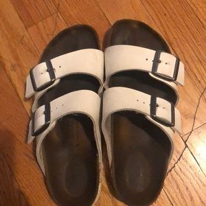 WHITE ARIZONA BIRKENSTOCK